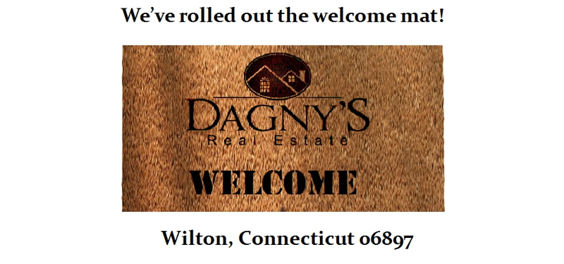 my welcome mat for Dagny's Real Estate