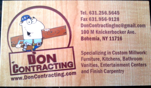 Don Contracting Bohemia NY