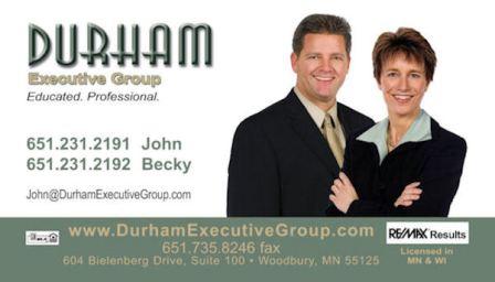 John and Becky Durham - Durham Executive Group