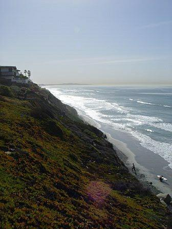 Grandview Beach in Leucadia (Encinitas)
