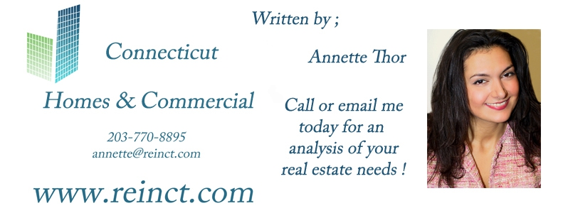Fairfield County Real Estate Broker Logo and Contact