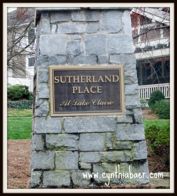 Sutherland Place in Lake Claire - Intown Atlanta