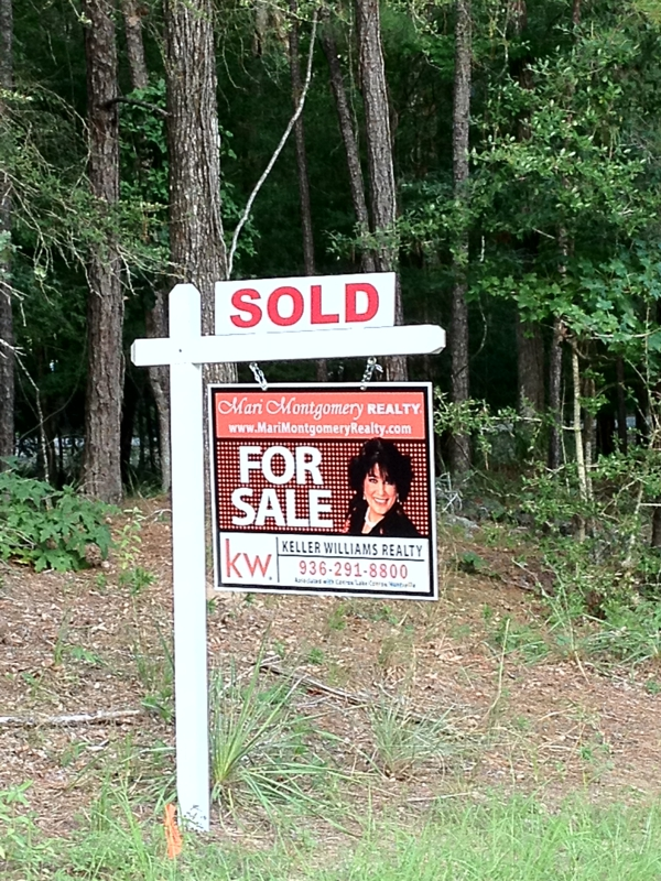 SOLD by Mari Montgomery REALTY, HUntsville TX Real Estate, Elkins Lake Homes For Sale