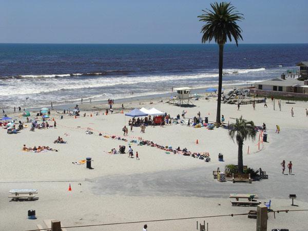 Moonlight Beach In Encinitas California