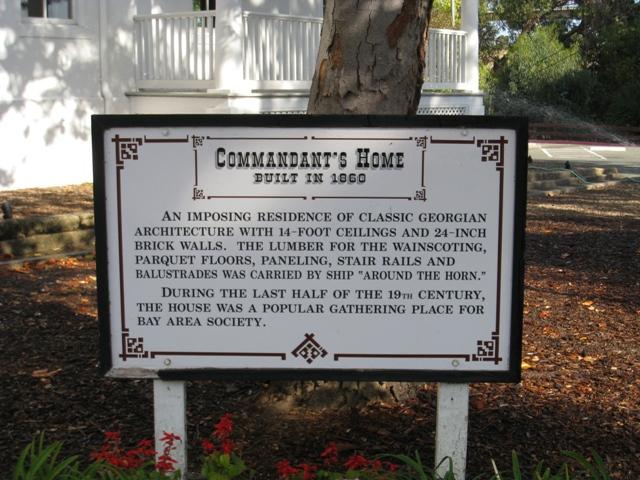 Benicia Commandants Residence