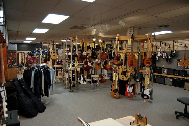 Harrys Guitar Shop | Best Place to Find Guitars in Raleigh | Guitar Lessons