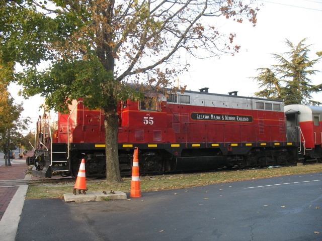Lebanon Mason & Monroe Railroad locomotive