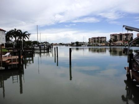 Treasure Island, after a rain storm