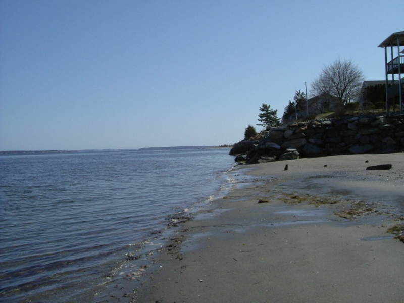 Narragansett Bay coastal area