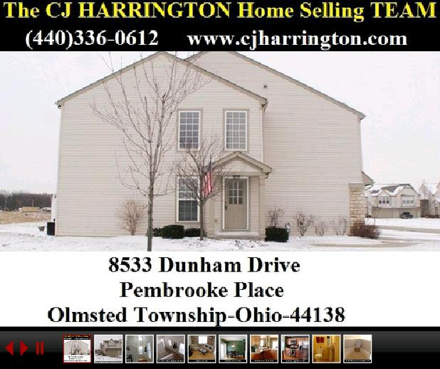 02-29-12 Cleveland Real Estate-8533 Dunham(Olmsted Township, Ohio 44138)...Call (440)336-0612 or Visit WWW.CJHARRINGTON.COM