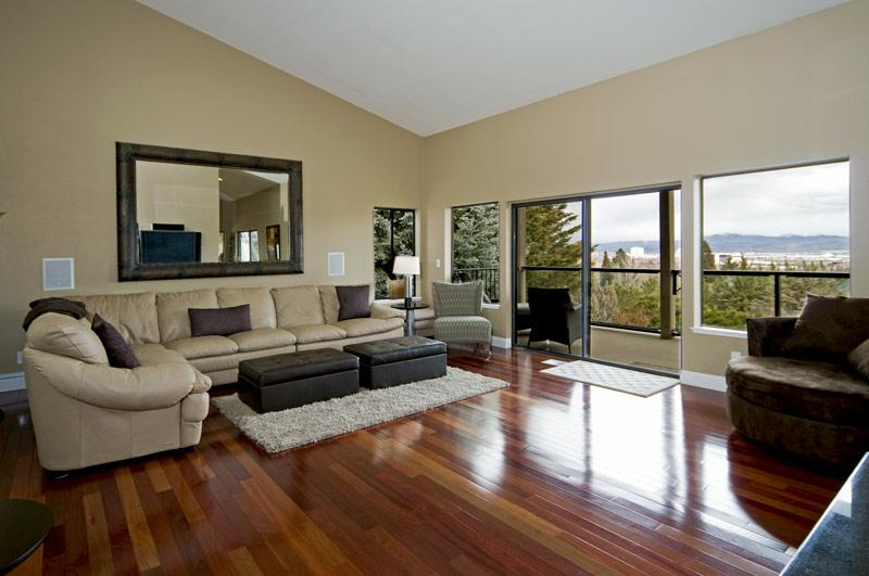 Living Room With Cherry Wood Floors Myfamilyliving