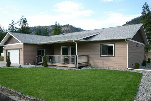 Clark Fork River View Home Superior MT Real Estate