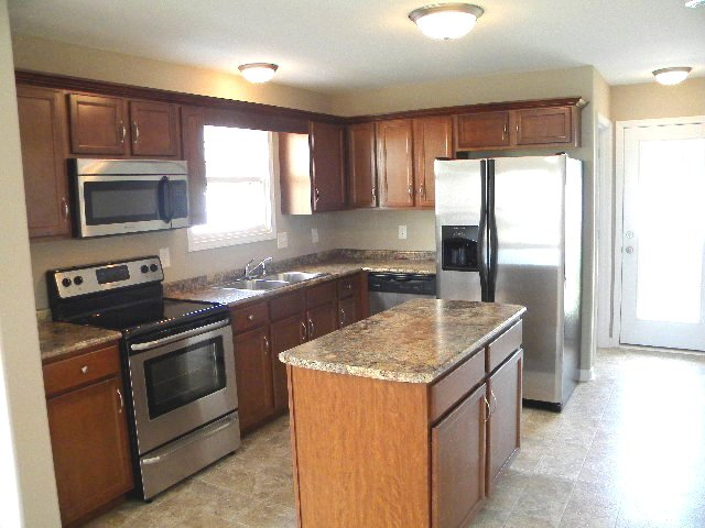 Kitchens are fully equipped in Villas at Meriwether