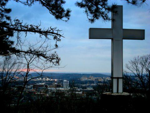 The Cross on Mt. Sequoyah