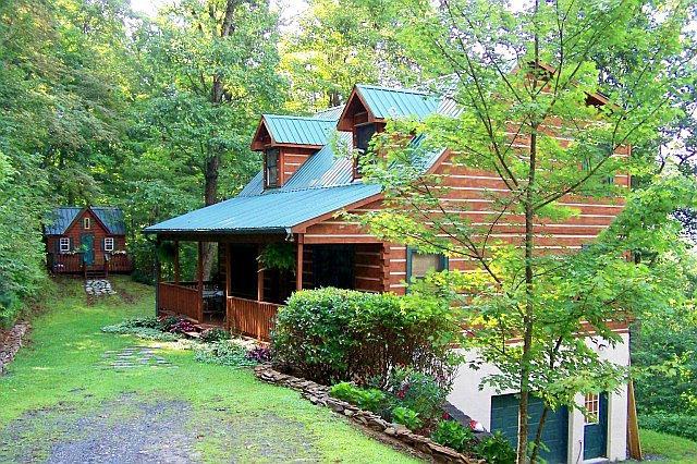 Mountain Log Home Cabin For Sale In Boone North Carolina