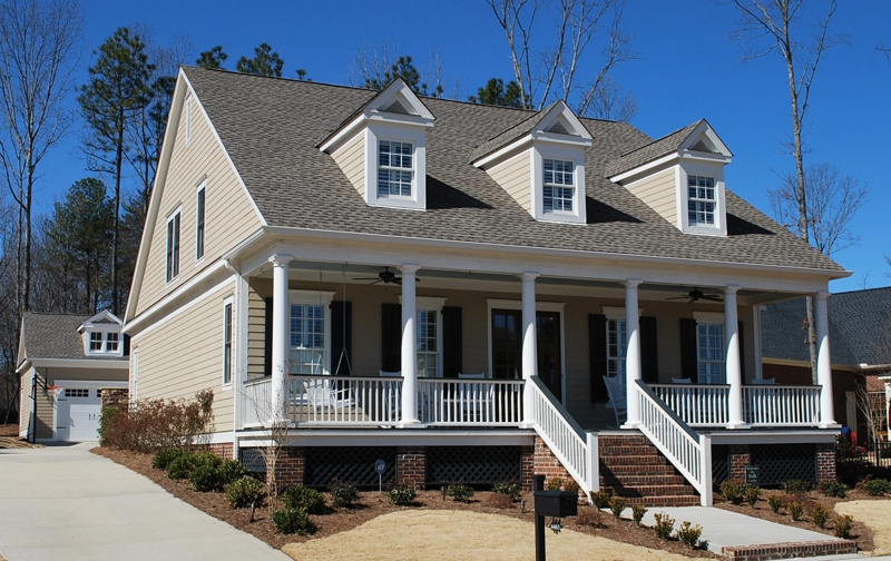 Southern home design porches that rock - House plans porches three designs ...