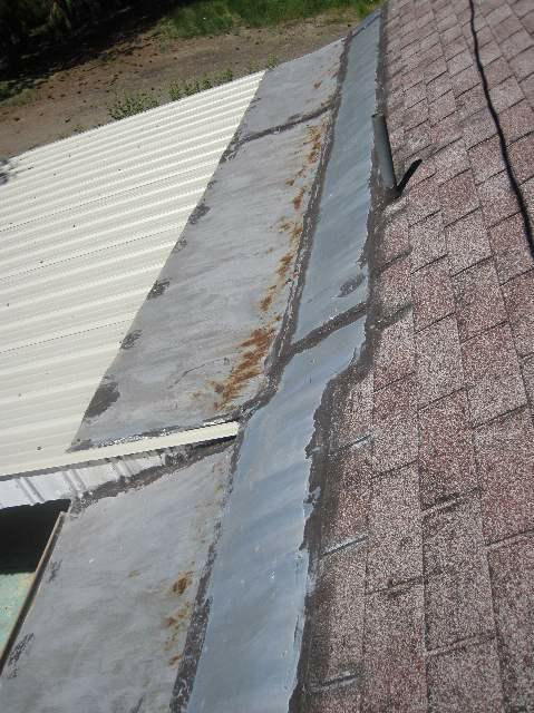 Roof Flashing- NCW Home Inspections, LLC