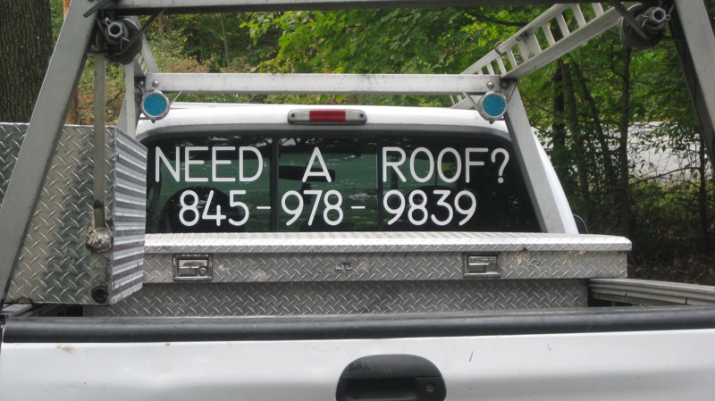 roofer ad
