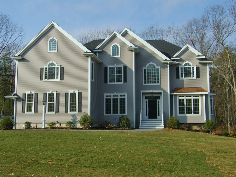15 cottontail lane at sandy knoll estates in franklin ma for Custom colonial homes