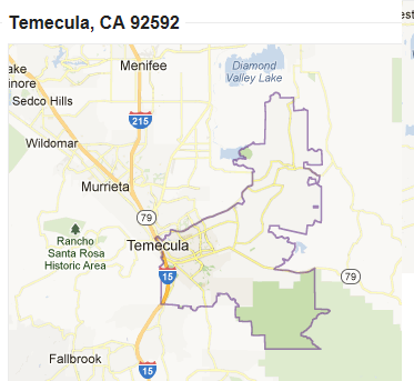 Zip Code 92592 Map Search Homes For Sale Real Estate Temecula Google