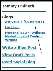 blog customization
