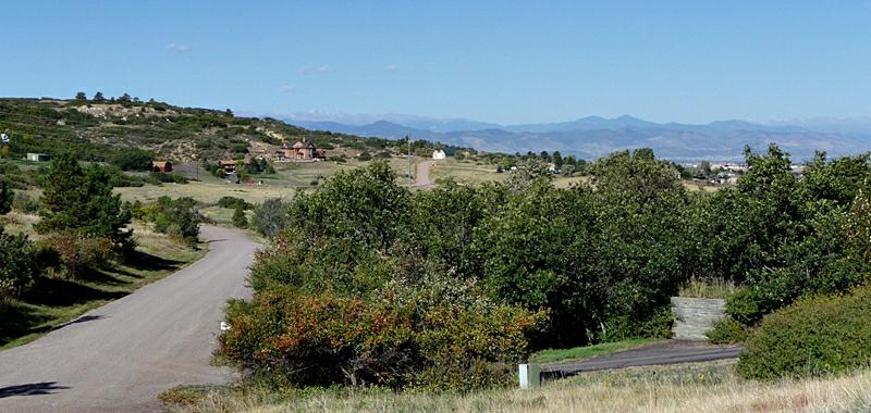 Views of the mountains from McArthur Ranch Littleton Co