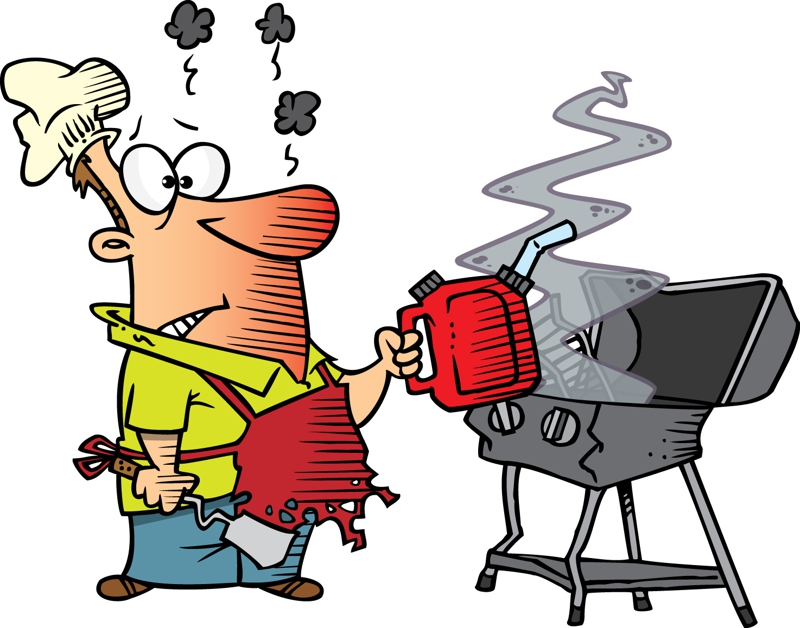 free clipart man grilling - photo #42