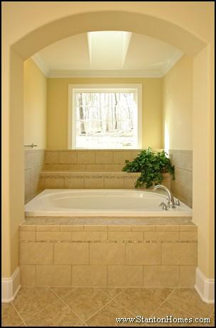 Tub Enclosure Tile Ideas | Bathroom Tub Photos | Custom Tile Design ...
