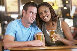 beer couple
