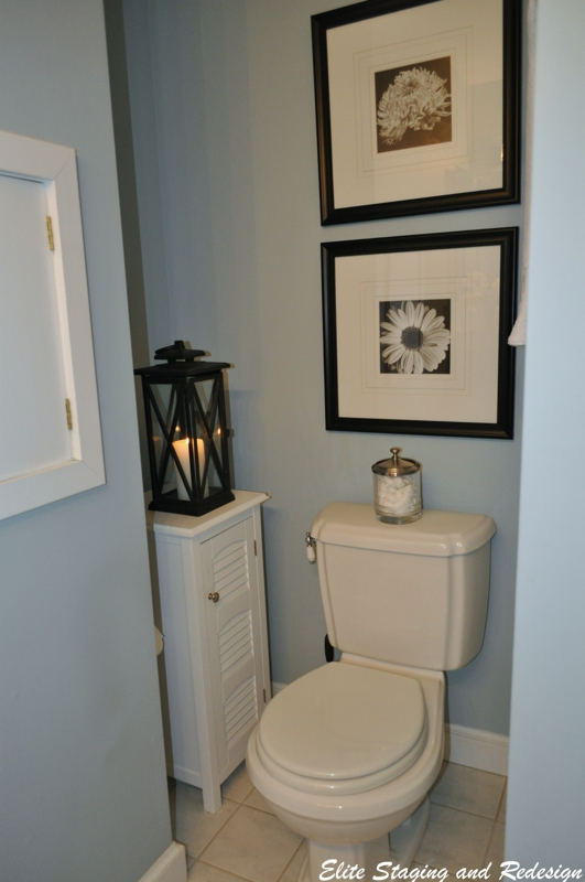 Budget bathroom staging before after photos for Staging bathroom ideas