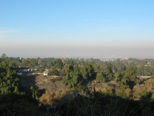 Canyons above Rolling Hills Estates