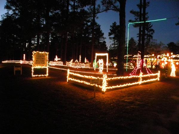 Christmas Lights near pinehurst