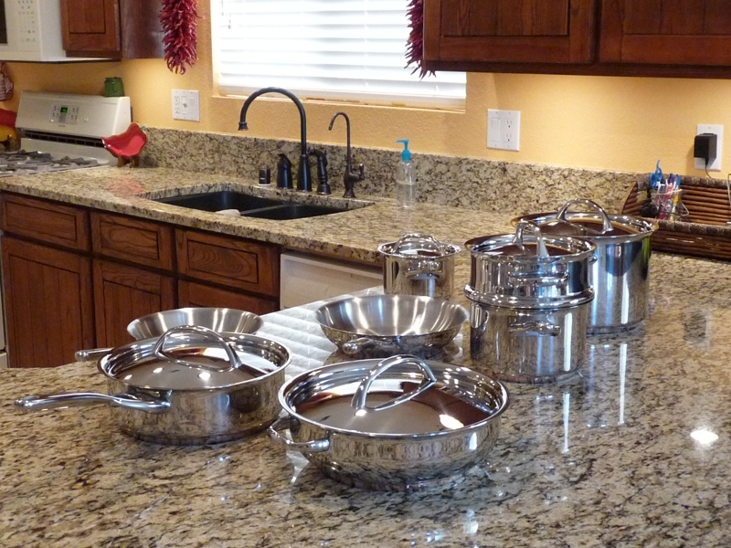 Cooking with Stainless Cookware on gas stove John McCormack's story