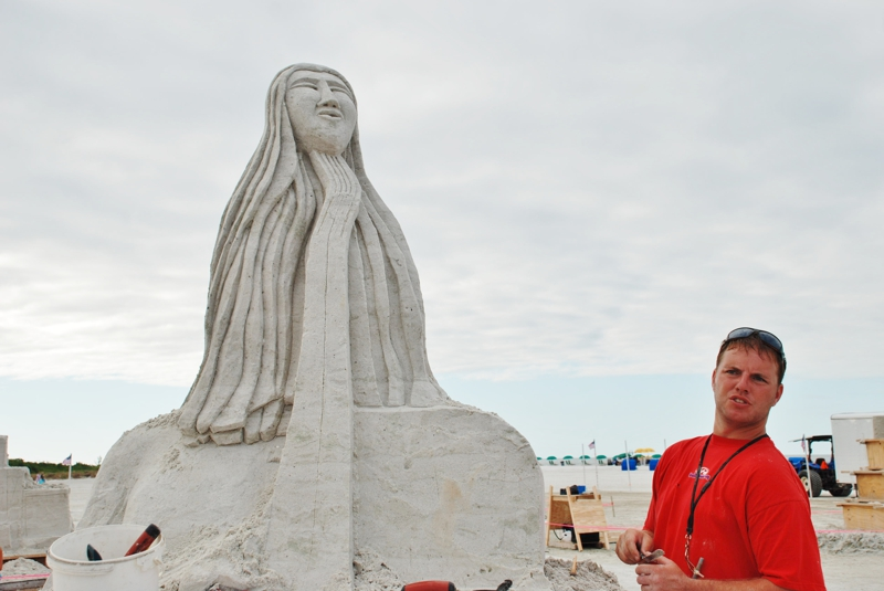 2011 Fort MYers Beach Sand Sculpting Contest