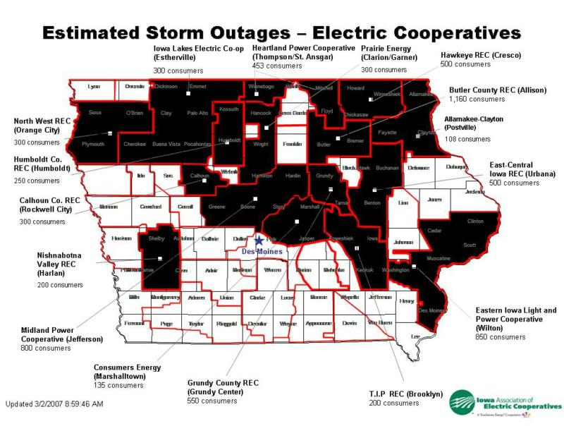 Outage Update