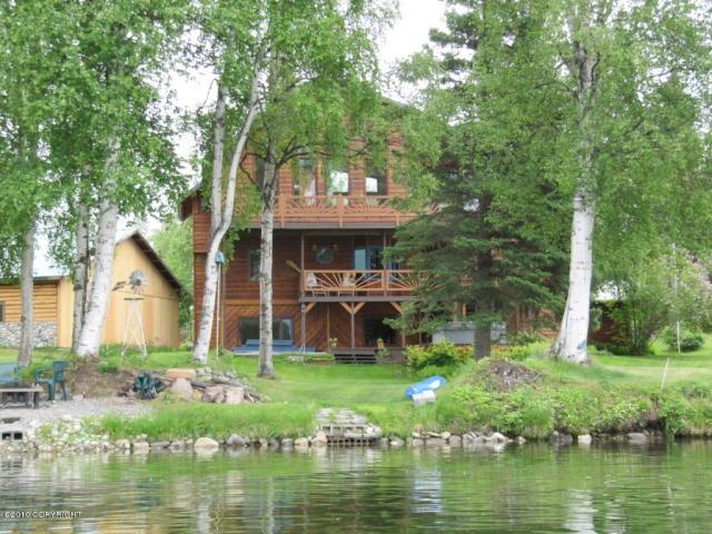 Wasilla Home on Wasilla Lake