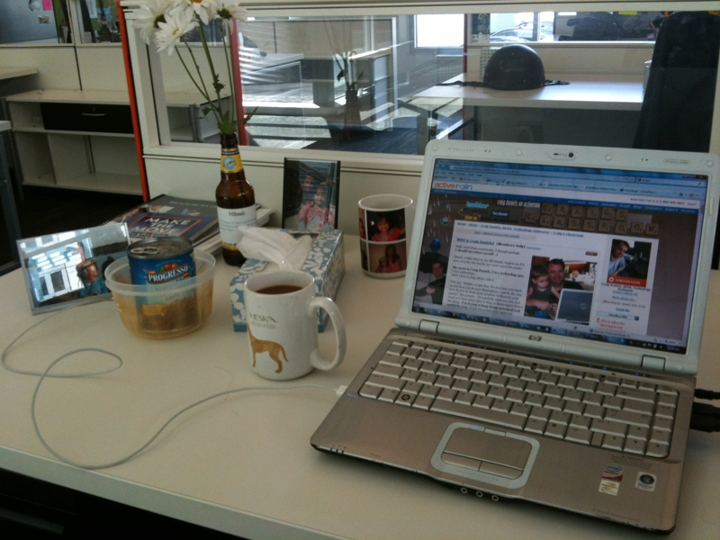 Nikesh Parekh's Desk