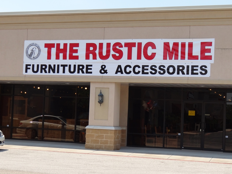 the rustic mile opens in the woodlands tx