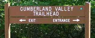 Big South Fork National Park: Trailhead Sign