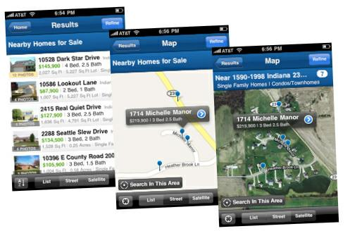 Realtor iPhone App - Search