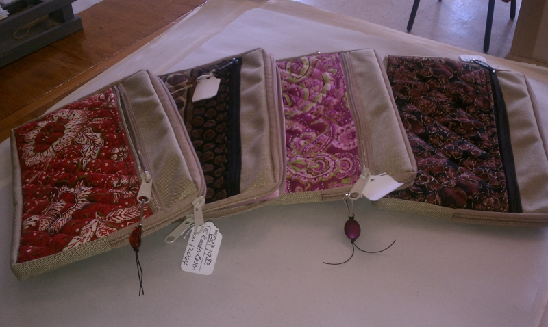 Fabric Kindle covers