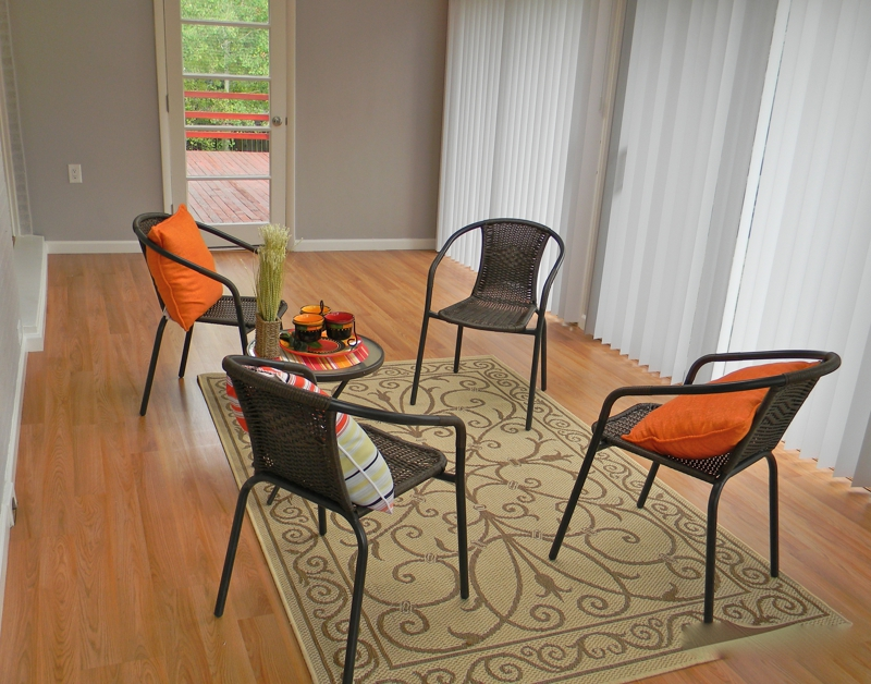 Sun Room Staging