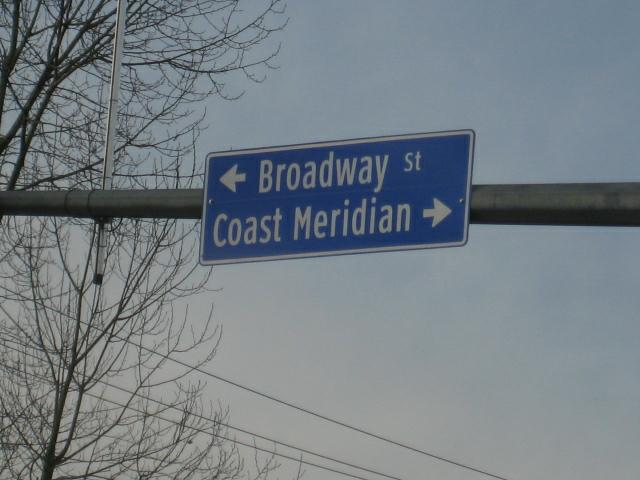 Port Coquitlam railroad overpass project at coast meridian corridor
