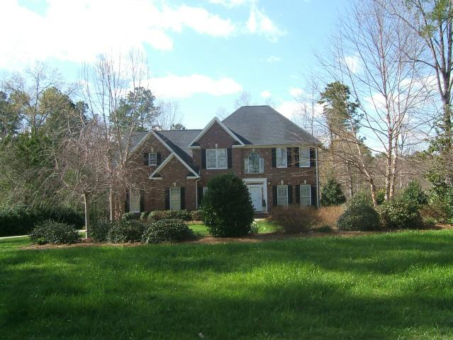 two story brick home Westlake Valley Sanford, NC