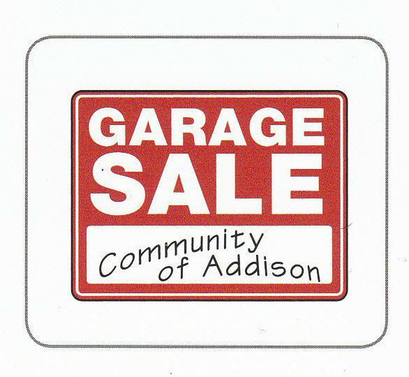 Addison Garage Sale