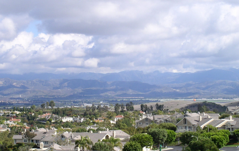 Irvine views from TURTLE ROCK