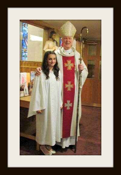 Maria's confirmation