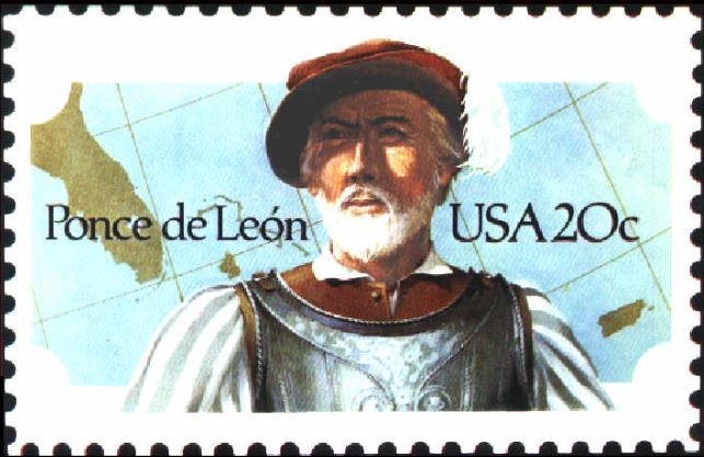 Juan Ponce de León Stamp