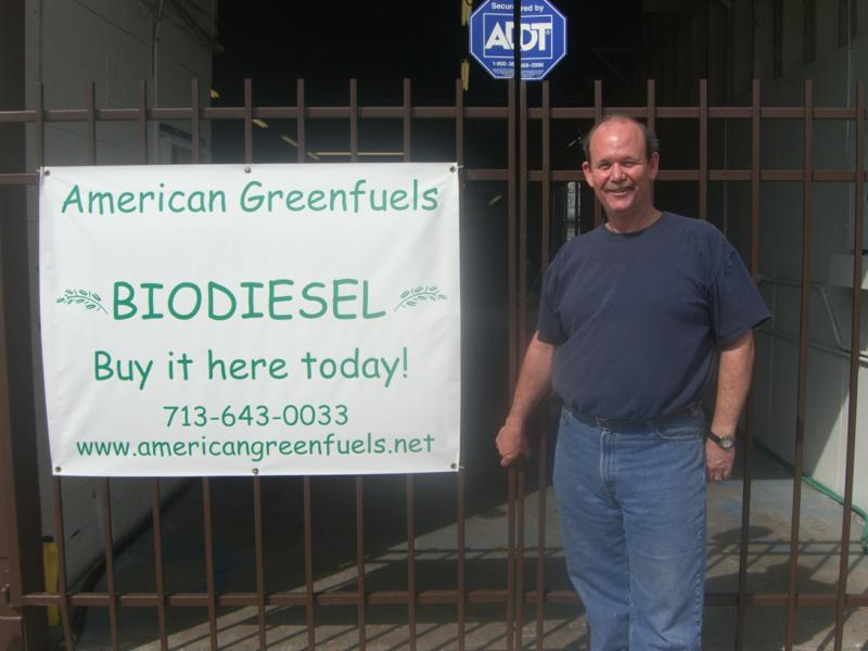 Bud Barber & American Greenfuel shop