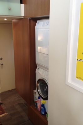 Laundry in Wrigleyville Condo
